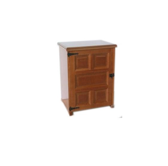 mueble maquina de coser rustico