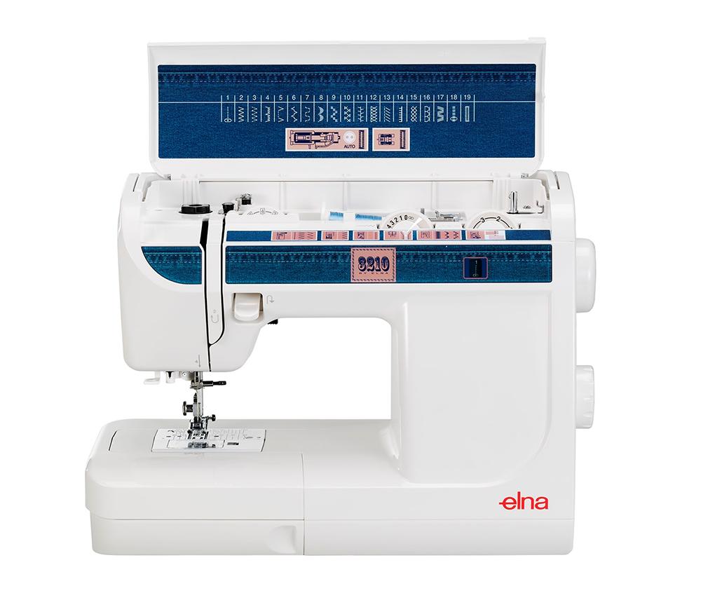 maquina de coser elna 3210