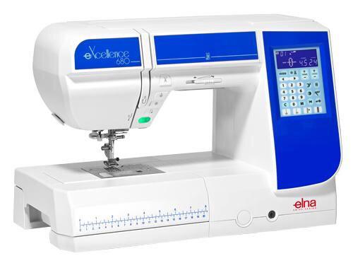 maquina de coser elna 680