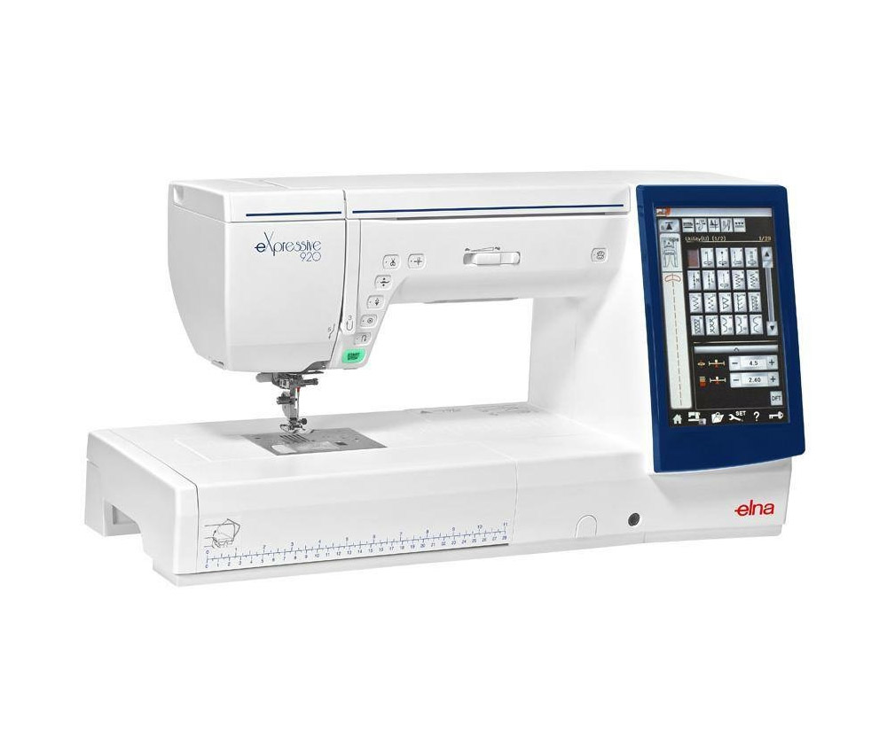 maquina de coser y bordar elna expresive 920